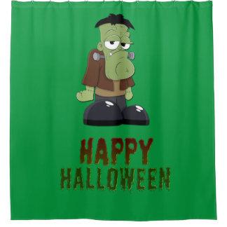 Happy Halloween Monster Shower Curtain