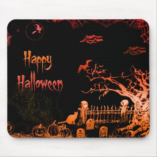Happy Halloween - Mouse Pad