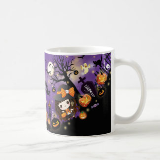 Happy Halloween Basic White Mug