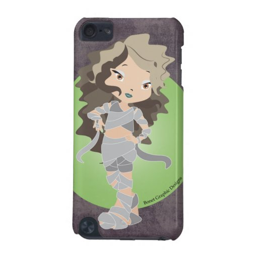 Happy Halloween Mummy Chibi  iPod Touch (5th Generation) Covers
