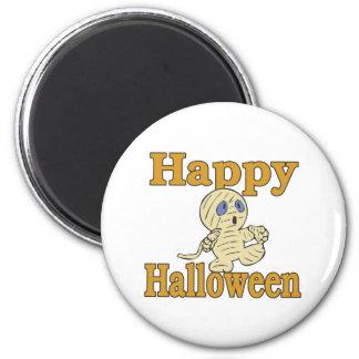 Happy Halloween Mummy Fridge Magnets