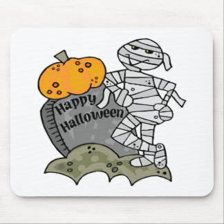 Happy Halloween Mummy Mouse Pad