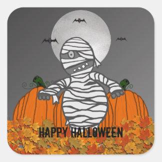 Happy Halloween: Mummy Stickers