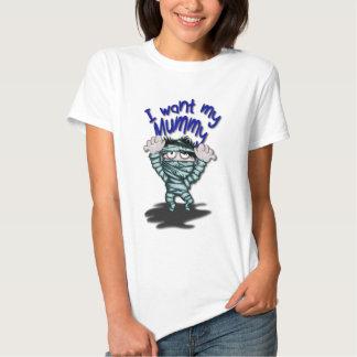 Happy Halloween Mummy T-shirt