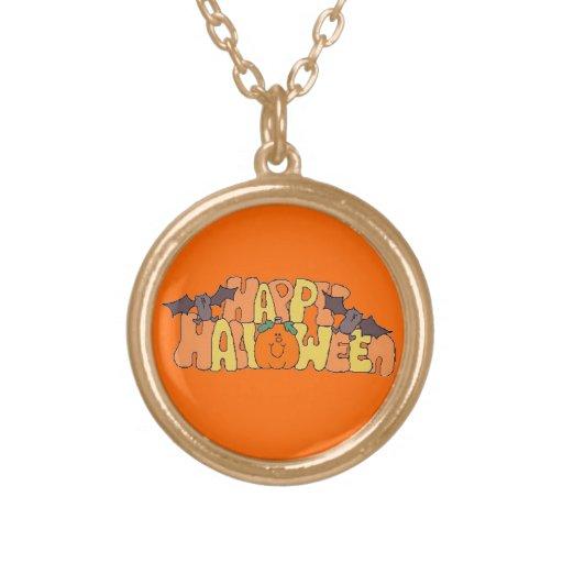 Happy Halloween Necklaces