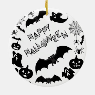 Happy Halloween Ornament