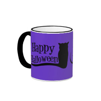 Happy Halloween Owl Mugs