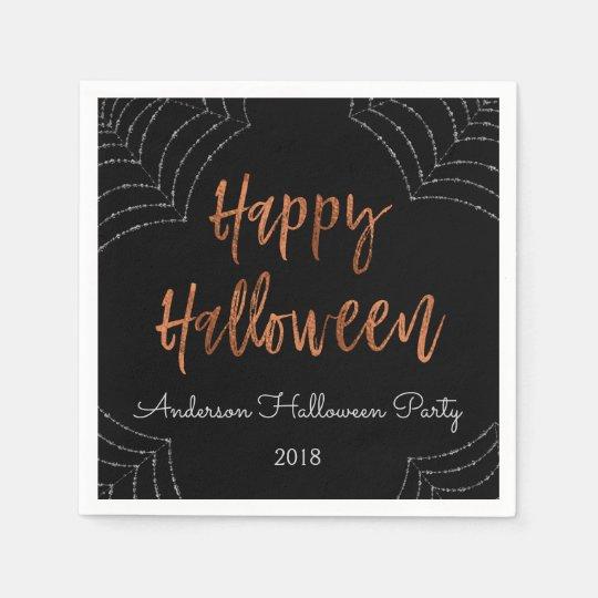 Happy Halloween Party Modern Halloween Napkins Disposable Napkin