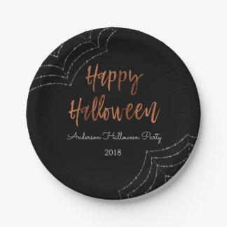 Happy Halloween Party Modern Halloween Plates