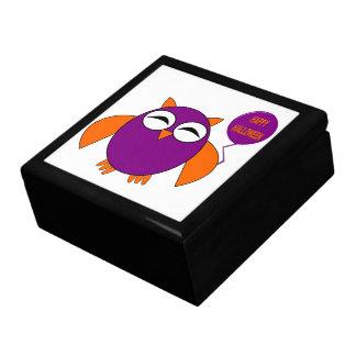 Happy Halloween Party Owl Gift Box