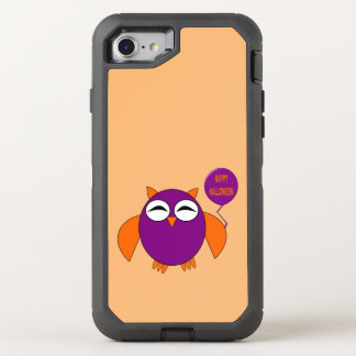 Happy Halloween Party Owl Phone OtterBox Defender iPhone 8/7 Case