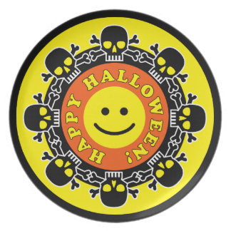 Happy Halloween Party Party Plates