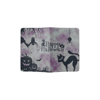 Happy Halloween Passport Holder