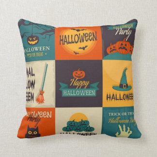 Happy Halloween Pattern Cushion
