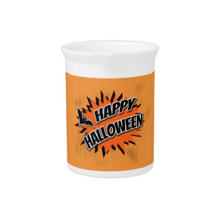 Happy Halloween Pitcher