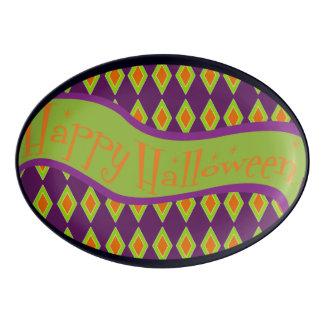 Happy Halloween Platter Porcelain Serving Platter