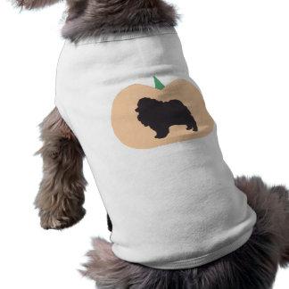 Happy Halloween Pomeranian Doggie T-shirt