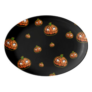 Happy Halloween Porcelain Serving Platter