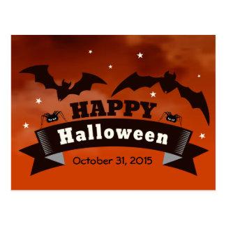 Happy Halloween Postcard