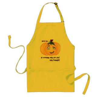Happy Halloween Pumpkin Boy Standard Apron
