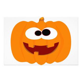 Happy Halloween Pumpkin Customized Stationery