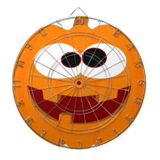 Happy Halloween Pumpkin Dartboard With Darts