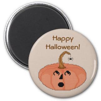 Happy Halloween! Pumpkin Magnet