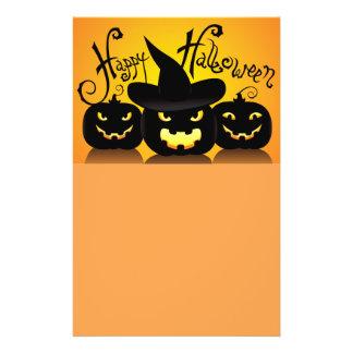 Happy Halloween Pumpkins 14 Cm X 21.5 Cm Flyer