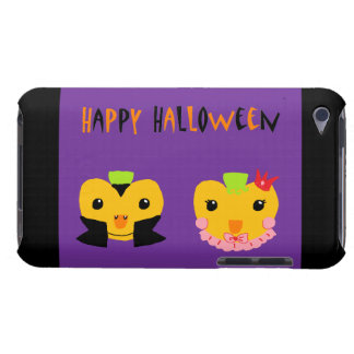 Happy Halloween Pumpkins Barely There iPod Cases