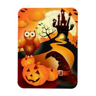 Happy Halloween! Rectangular Photo Magnet