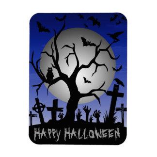 Happy Halloween Rectangular Photo Magnet