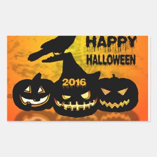 Happy Halloween Rectangular Sticker