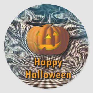 Happy Halloween Round Sticker