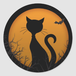 Happy Halloween Round Sticker