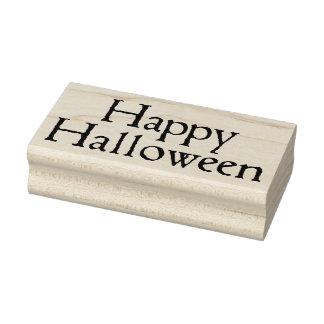 Happy Halloween! Rubber Stamp