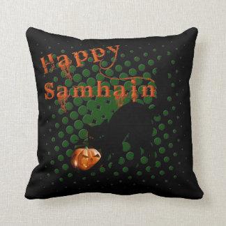 Happy Halloween/Samhain Throw Cushion