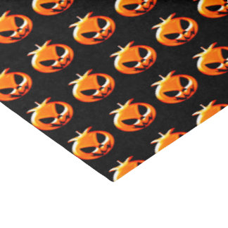 """Happy Halloween Scary & Cute Pumpkins Tissue Paper 15"""" X 20"""" Tissue Paper"""