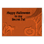 Happy Halloween Secret Pal Greeting Card
