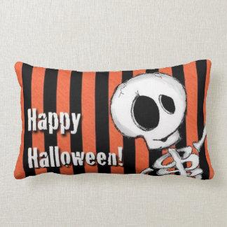 Happy Halloween Silly Skeleton Lumbar Cushion