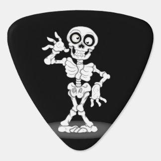 Happy Halloween Skeleton Plectrum