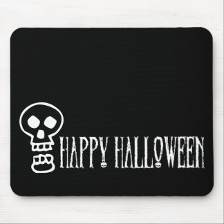 Happy Halloween Skull 1 Mouse Pads