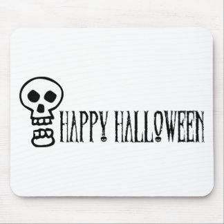 Happy Halloween Skull 1 Mousepads