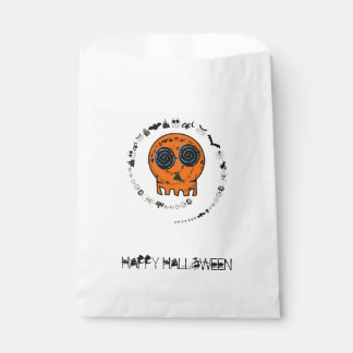 HAPPY HALLOWEEN [skull 2] Favour Bags