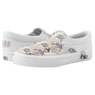 Happy Halloween Slip-On Shoes