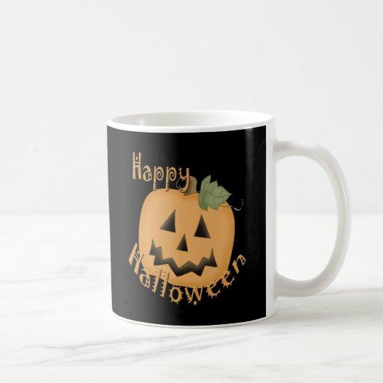 Happy Halloween Smiling Jack O'Lantern Coffee Mug