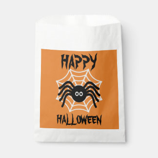 Happy Halloween Spider Favor Bags Favour Bags