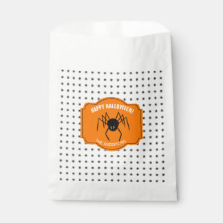 Happy Halloween Spider ID215 Favour Bags