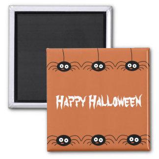 Happy Halloween Spider Magnet