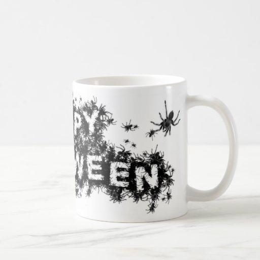 Happy Halloween Spider Mug