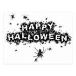 Happy Halloween Spider Postcards (Set of 10)